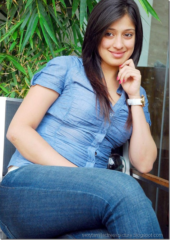 lakshmi_rai_tight_jeans_and_shirt_stills_01