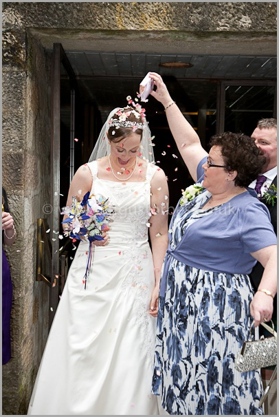 bride confetti scotland