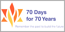 70 Days For 70 Years