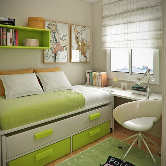 green-and-beige-workspace