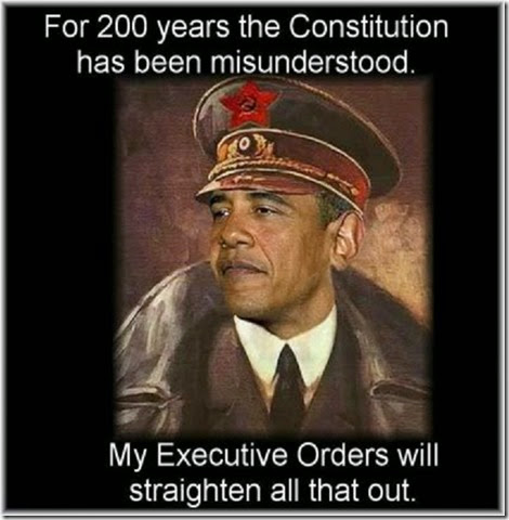 Comrade BHO will Straighten Out (EO) Constitution Musunderstanding