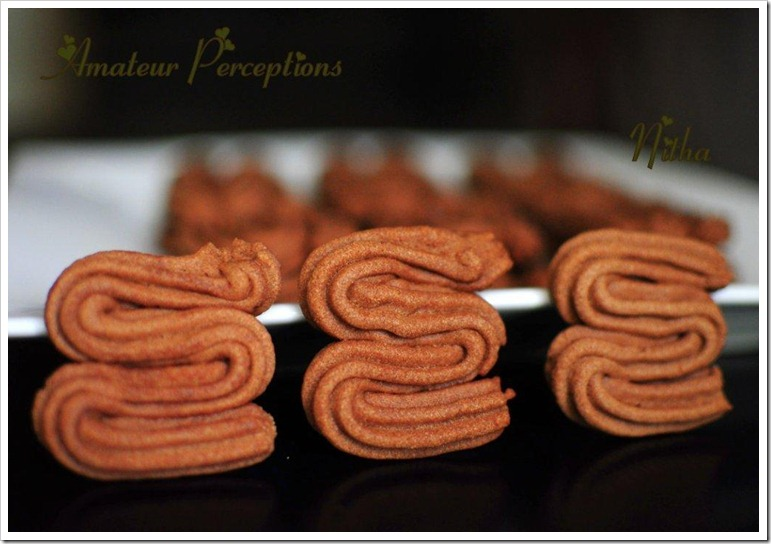 Chocolate Sables 6
