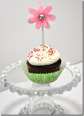PINK CUPCAKE TOPPER