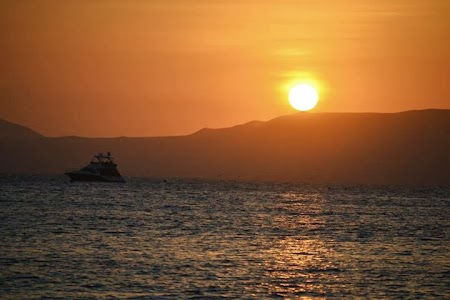 Obiective turistice Peru: Paracas apus de soare