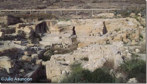 Baños de Fortuna - Vista general del Ninfeo
