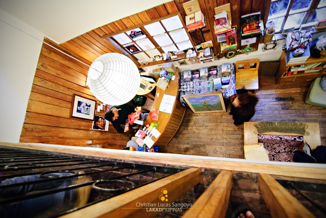 Mt Cloud Bookshop as seen from the Mezzanine