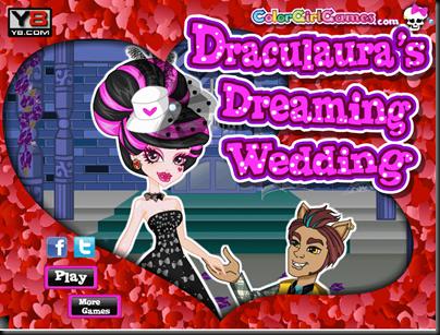 Draculaura game