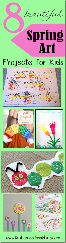 8 Beautiful Spring Art Projects for Kids