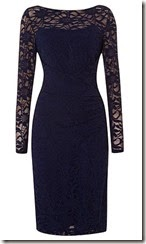 Lauren Ralph Lauren long sleeve lace dress