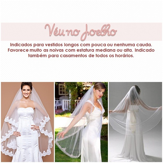 TIPOS DE VEU - JOELHO - PLANETA CASAMENTO