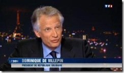 Dominique Villepin Dez 2011