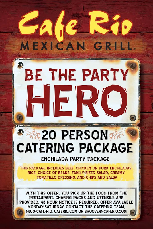 Cafe Rio Giveaway