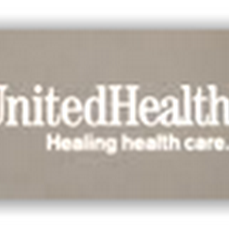 UnitedHealthCare 1st Quarter of 2012 Yields over $1 Billion in Net Profits–25% of the Nation Still Remains Uninsured