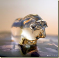 Crystal water buffalo