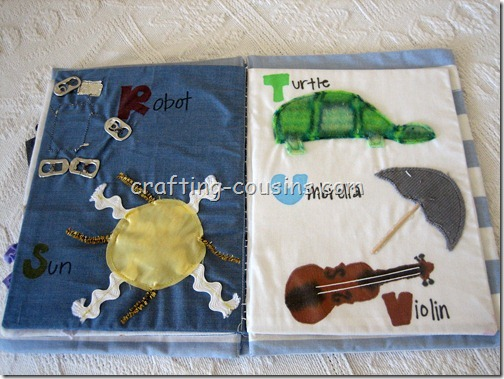 Textile Quiet Book (7)