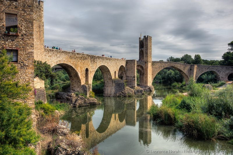 Besalu Bridge Costa Brava