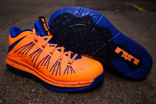 Nike Air Max LeBron X Low 8220Knicks8221 Arriving at Retailers