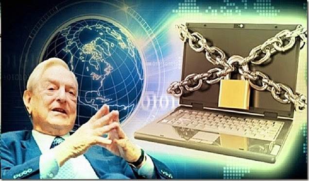 Soros Locks Internet