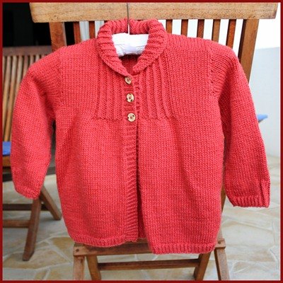 Vintage cardi for Gaia1