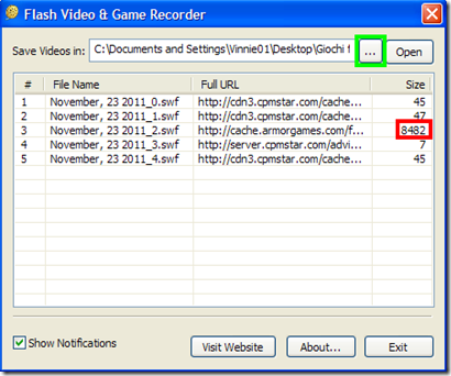 Flash Video & Game Recorder