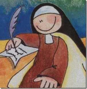 santa teresa dibujos (4)