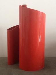 red Stoppino Deda vase