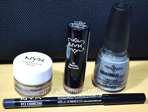 Nyx products and China Glaze Crackle I bought from Digital Traincase