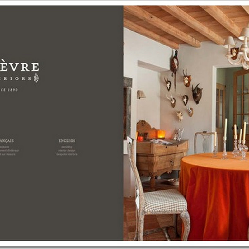 Lefèvre Interiors new website online