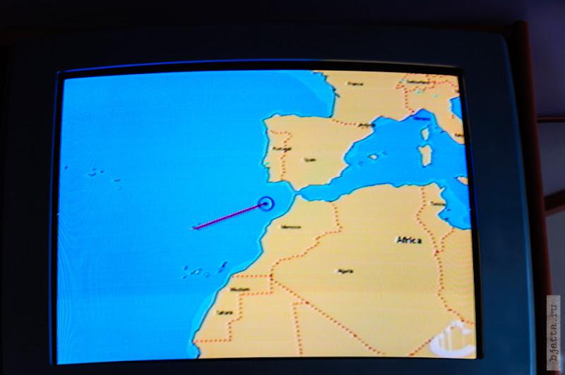 23. Круиз на Costa Concordia. День 7-й. Морской день, из Фуншала в Малагу, через гибралтар. Атлантика.