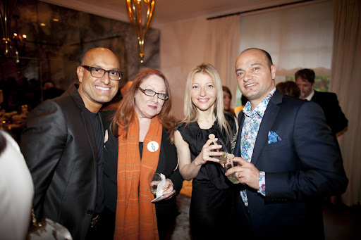 Angel Sanchez, Deborah Moses, Rita Vinieris and Tony Giancola of Rivini