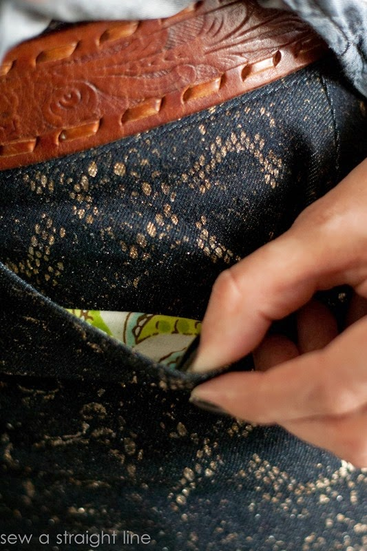 snake skin jeans sew a straight line-5