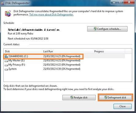 Manfaat dan Cara Defrag Harddisk Pada Windows 7