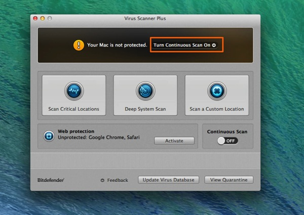 Mac app utilities virus scanner plus1