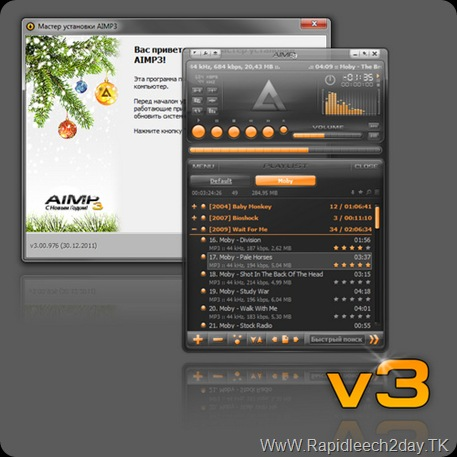 Download AIMP3 Build 976 Audio Player Released Final free 30.12.2011