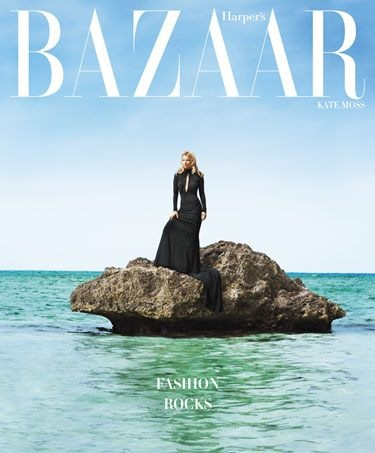 Kate Moss on Harper's Bazaar June-July 2012