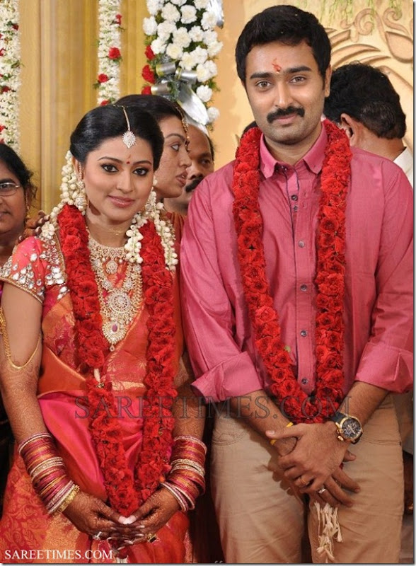 Sneha Prasanna Engagement Photos