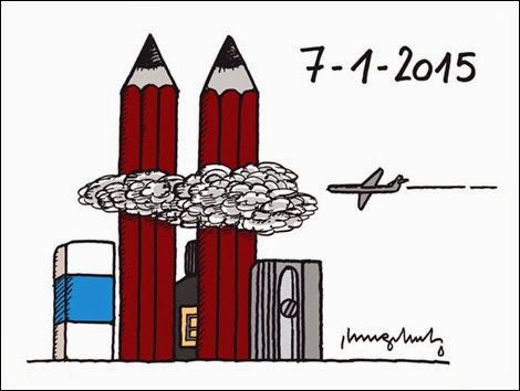 ataque terrorista contra o jornal francês Charlie Hedbo atentados terroristas de 11 de setembro de 2001
