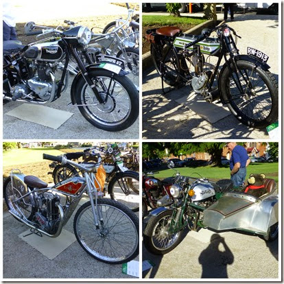 Various bikes on display November 2014