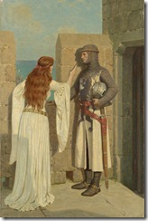 The-Shadow by Edmund Blair Leighton
