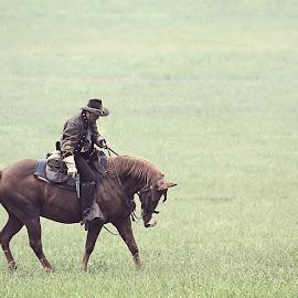 Civil War Reenacting by Barbara Noles - News & Events US Events ( reenacting, soldier, horse, civil war, historical,  )