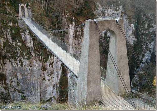 Puente de las hoces de Holtzarte - Pirineo francés