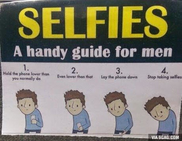 Selfie tip for men