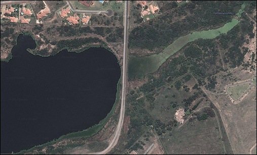 HARTBEESPOORT DAM POLLUTION HIDDEN GOOGLE VIEW 2 MAR62012