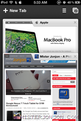 Google Chrome for iOS iPhone iPod touch iPad 7