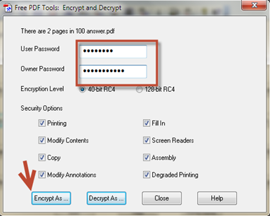 วิธีตั้งค่าความปลอดภัยให้เอกสาร pdf