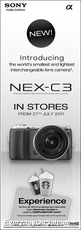 sony-camera-Nex-C3-2011-EverydayOnSales-Warehouse-Sale-Promotion-Deal-Discount