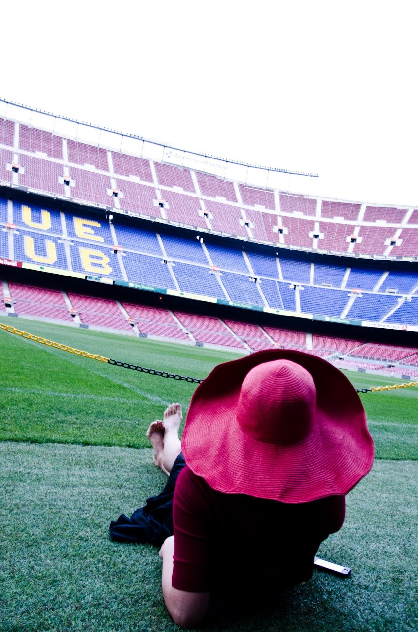 Lezaan at Camp Nou