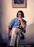 Autoretrato Jack Vettriano