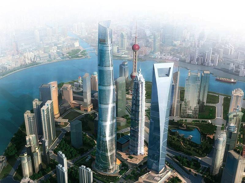ShanghaiTower Rendering