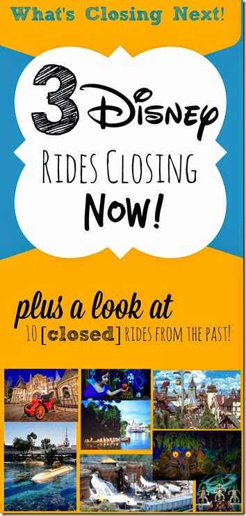 3 Disney World Rides Closing NOW! Plus a look at 10 closed rides from the past #disney #disneyworld #disneyvacations #disneykids #disneytips
